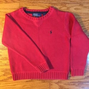 Boys ralph lauren polo swearer size 5